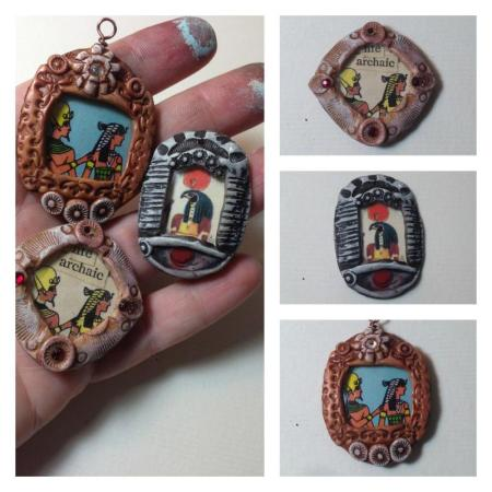 "vintage PC ""Lockets"""
