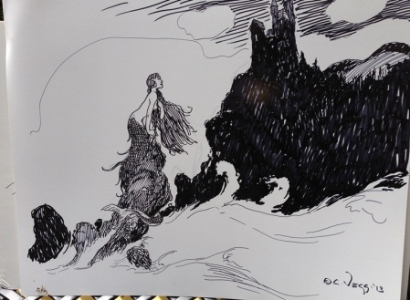 Charles Vess drawing