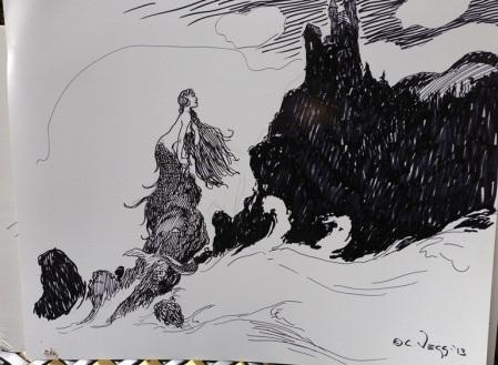 Charles Vess drawing